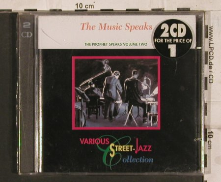 V.A.A Street Jazz CollectionVol.2: The Music Speaks, FS-New, Direct Effect(), D, 1994 - 2CD - 83761 - 6,00 Euro