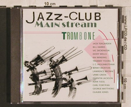 V.A.Jazz Club Mainstream: Trombone, 12 Tr., Verve(845 144-2), D, 1991 - CD - 83763 - 5,00 Euro