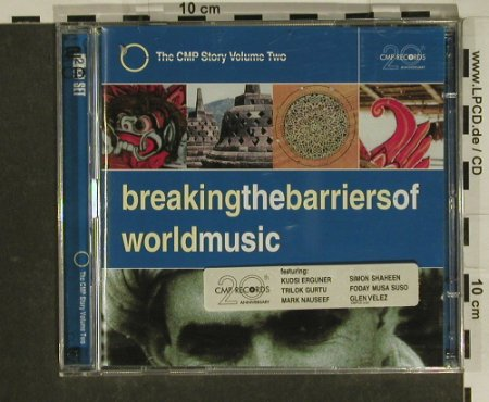 V.A.Breaking The Barriers of: World Music,21 Tr., CMP(), D, 1997 - 2CD - 84107 - 7,50 Euro