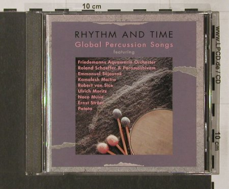 V.A.Rhythm And Time: 11 Tr., Biber(), D, 1995 - CD - 84154 - 7,50 Euro
