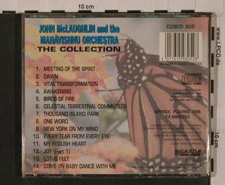 Mc Laughlin,John & Mahavishnu Orch.: The Collection,14Tr, Castle(CCSCD 305), EEC, 1991 - CD - 84270 - 7,50 Euro