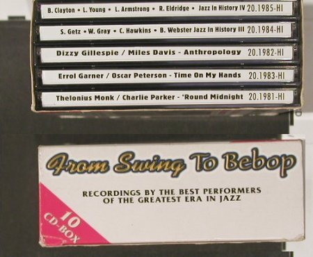 V.A.From Swing to Bebob: 1929-47, Box, History(), D,  - 10CD - 90136 - 12,50 Euro