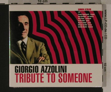 Azzolini,Giorgio: Tribute to Someone, FS-New, Rearward(RW104), I, 1999 - CD - 90700 - 10,00 Euro