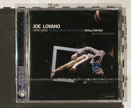 Lovano,Joe: Im All for You-BalladSongbook, Blue Note(), EU,FS-New, 2004 - CD - 91022 - 10,00 Euro