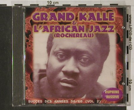 Grand Kalle & L'African Jazz: Succes Des Annes 50/60 Vol.2, Sonodisc(36582), F, FS-New,  - CD - 91702 - 11,50 Euro