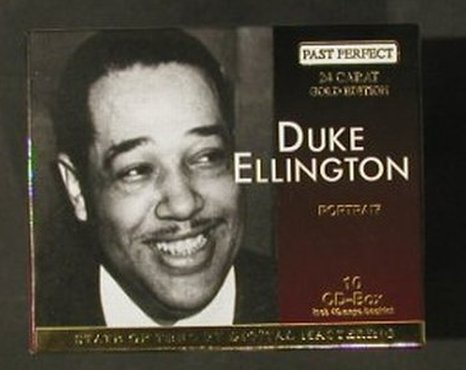 Ellington,Duke: Same, Portrait, BoxSet, Past Perfect(204240), D,  - 10CD - 91749 - 20,00 Euro
