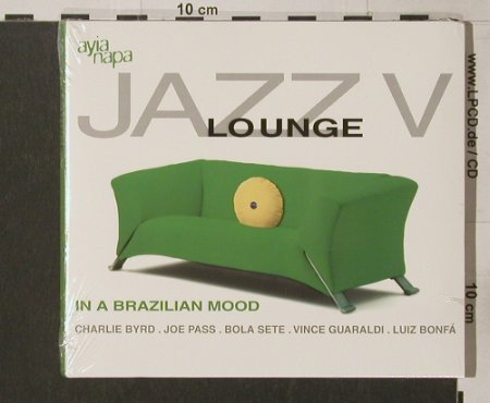 V.A.Jazz Lounge: Vol. 5, Digi, FS-New, ZYX/AyiaNapa(), D, 2002 - CD - 91783 - 7,50 Euro