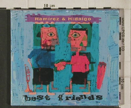 Ramirez,Humberto & Giovanni Hidalgo: Best Friends , FS-New, Connector(), EEC,  - CD - 91921 - 10,00 Euro