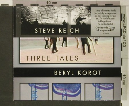 Reich,Steve / Beryl Korot: Three Tales, Nonesuch(), D, 2003 - CD/DVD - 92381 - 15,00 Euro