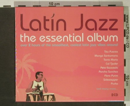 V.A.Latin Jazz: The Essential Album, 25 Tr., FS-New, CBS(), NL, 2002 - 2CD - 92449 - 11,50 Euro