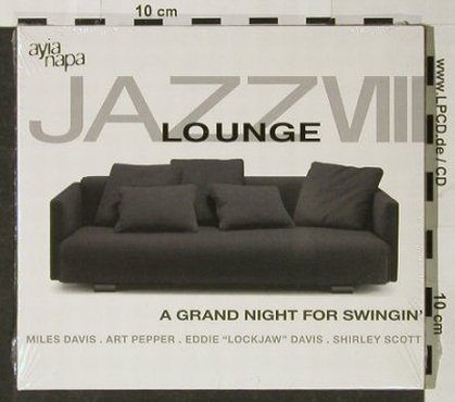 V.A.Jazz Lounge: Vol.8, Digi, FS-New, ZYX(), D, 2004 - CD - 92790 - 7,50 Euro