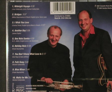 Gottschalk,Norbert/Frank Haunschild: Bridges, FS-New, Acoustic Music(), D, 2001 - CD - 92807 - 9,00 Euro