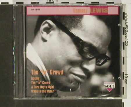 "Lewis,Ramsey: The""In""Crowd, FS-New, Charly(), EEC, 1993 - CD - 93110 - 10,00 Euro"