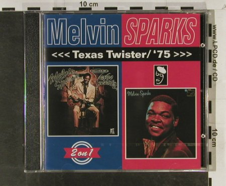 Sparks,Melvin: Texas Twister / '75 >>>,2on1,FS-New, Westbound Rec.(), UK, 1995 - CD - 93294 - 9,00 Euro