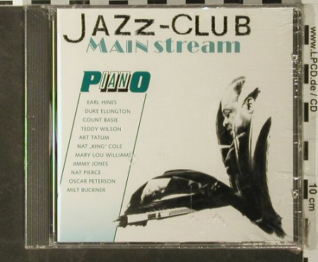 V.A.Jazz Club Mainstream: Piano, 11 Tr., FS-New, Verve(845 147-2), D, 1991 - CD - 93405 - 5,00 Euro