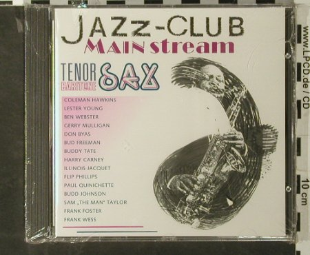 V.A.Jazz Club Mainstream: Tenor & Baritone Sax,15Tr., FS-New, Verve(845 146-2), D, 1991 - CD - 93406 - 7,50 Euro