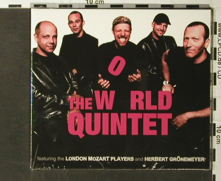 World Quintet: Same,Digi, 1Tr. Herbert Grönemeyer, Enja(), D,FS-New, 2002 - CD - 93673 - 7,50 Euro