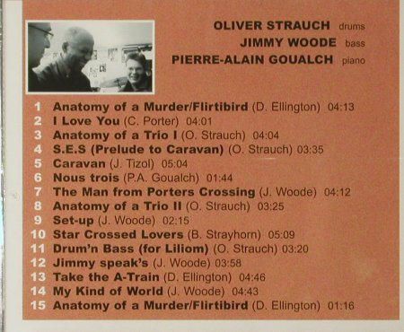 Oliver Strauch: Anatomy of a Trio, FS-New, Laika(), D, 2005 - CD - 93803 - 10,00 Euro