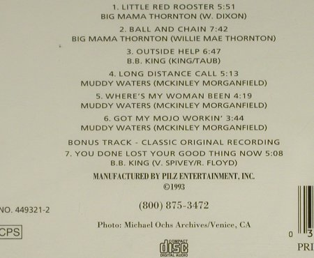 V.A.Live at Newport: B.B King...Big Mama Thornton, Pilz(449321-2), US,FS-new, 1993 - CD - 94031 - 15,00 Euro