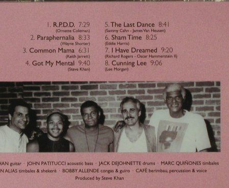 Khan,Steve: Got My Mental, FS-New, ESC Rec.(), EEC, 2005 - CD - 94099 - 10,00 Euro