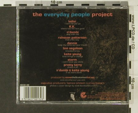 Harvey,Steve: The Everyday People Project 1, Expansion Record(Xecd 49), , FS-New, 2006 - CD - 94152 - 10,00 Euro