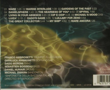 Ambrosetti,Franco: Liquid Gardens, FS-New, Enja(), , 2006 - CD - 94468 - 11,50 Euro