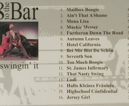 8 To The Bar: ...Swingin'It, FS-New, Moon Sound Rec.(), D, 2004 - CD - 94575 - 10,00 Euro