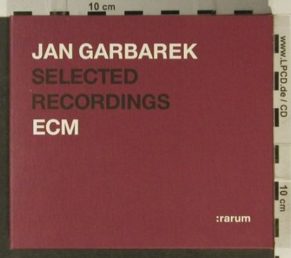 Garbarek,Jan: Selected Recordings:rarum, Digi, ECM(014 165-2), D, 2002 - 2CD - 94876 - 10,00 Euro