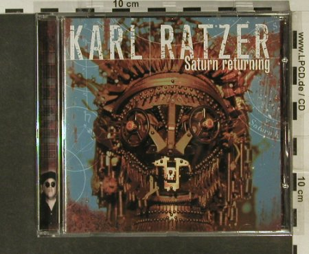 Ratzer,Karl: Saturn Returning, Enja(ENJ-9315 2), D, 1997 - CD - 94881 - 12,50 Euro