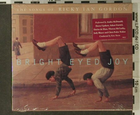 Gordon,Ricky Ian: Bright Eyed Joy, Nonesuch(), US, 2001 - CD - 94945 - 10,00 Euro