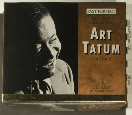 Tatum,Art: Portrait, Box Set,Booklet, Past Perfect(), D, 2001 - 10CD - 94965 - 15,00 Euro