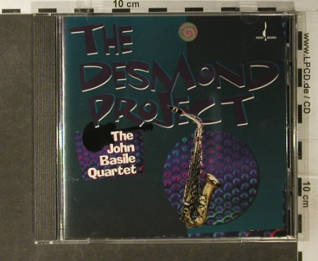 Basile Quartet,John: The Desmond Project, Chesky(JD 156), US, 1997 - CD - 95019 - 10,00 Euro
