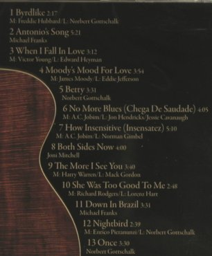 Gottschalk,Norbert: Solo, FS-New, Acoustic Music(319.1367.2), D, 2006 - CD - 95453 - 10,00 Euro