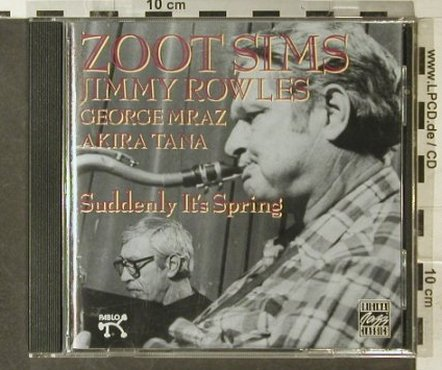 Sims,Zoot: Suddenly It's Spring, Pablo(OJCCD 742-2), D, 1992 - CD - 95544 - 7,50 Euro