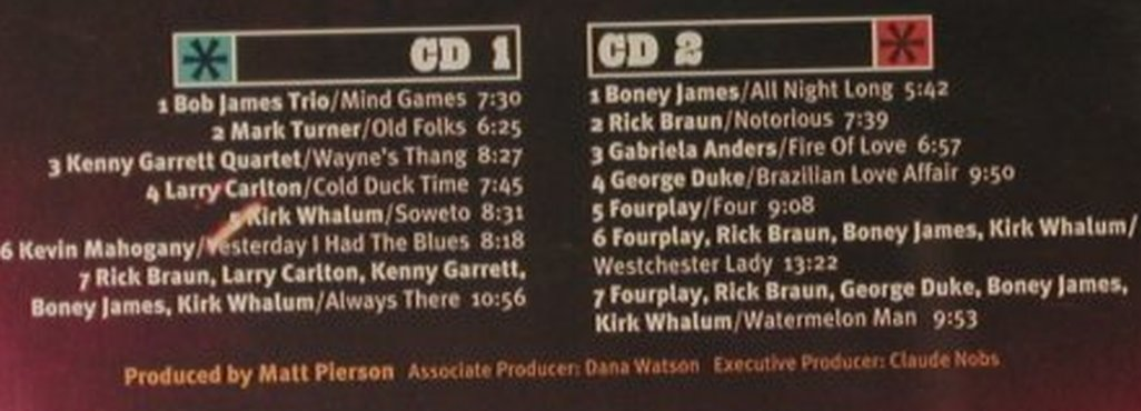 V.A.Casino Lights'99: 14 Tr., Bob James,Mark Turner.., Warner(), D, 2000 - 2CD - 95741 - 7,50 Euro