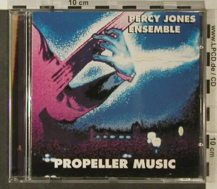 Jones Ensemble,Percy: Propeller Music, Hot Wire(9004), D, 1990 - CD - 95778 - 7,50 Euro