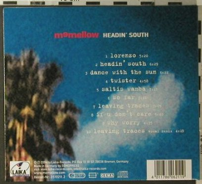 Memellow: Headin' South, Digi, Laika(3510211.2), D, 2006 - CD - 96152 - 7,50 Euro
