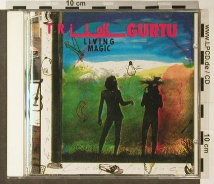 Gurtu,Trilok: Living Magic, CMP(), D, 1991 - CD - 96354 - 9,00 Euro