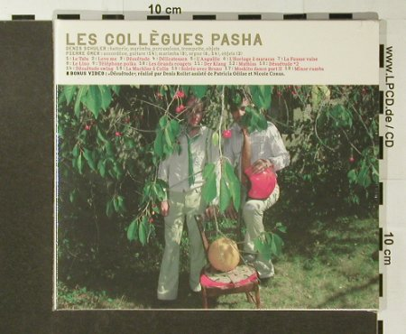 Les Collegues Pasha: Same, Digi, FS-New, REC REC(78), CH, 03 - CD - 96496 - 7,50 Euro