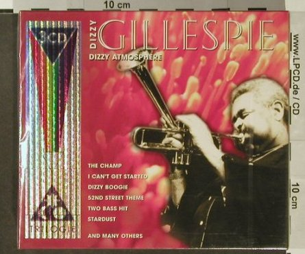 Gillespie,Dizzy: Dizzy Atmosphere, Box, FS-New, TIM(205889), EU, 2001 - 3CD - 96621 - 7,50 Euro