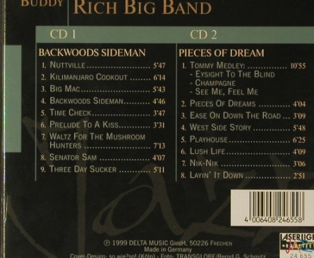 Rich Big Band,Buddy: Jazz Collection, Box, FS-New, LaserLight(24 655), D, 1999 - 2CD - 96622 - 5,00 Euro