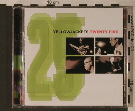 Yellowjackets: Twenty Five, Heads Up(HUCD 3112), US, 2006 - CD/DVD - 97143 - 10,00 Euro