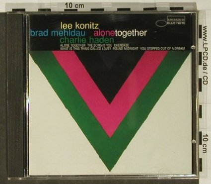 Konitz,L. / Mehldau / Haden: Alone Together, Blue Note(), NL, 1997 - CD - 97199 - 10,00 Euro