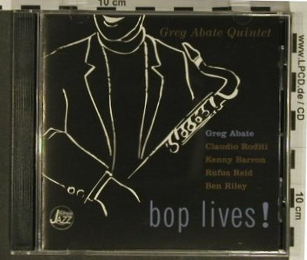 Abate Quintet,Greg: Bop Lives!, DA Music(), D, 1996 - CD - 97336 - 7,50 Euro