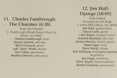 V.A.Jazz Finest Vol.1: Ch.Fambrough...Jim Hall, 12 Tr., CTI(), EEC,  - CD - 97342 - 4,00 Euro