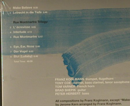 Koglmann,Franz: Make Believe, Digi, FS-New, Between the lines(btl001/EFA10172), D, 1999 - CD - 97343 - 10,00 Euro