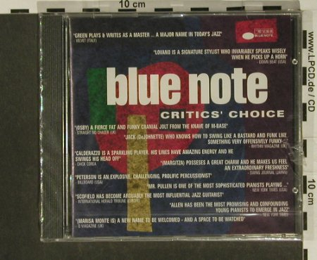 V.A.Critics' Choice: Benny Green..Marisa Monte,12Tr., Blue Note(), UK, FS-New, 1992 - CD - 97359 - 5,00 Euro