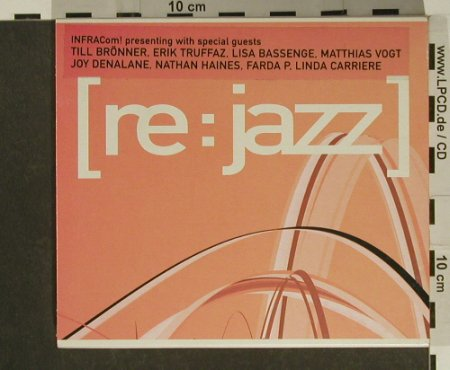 V.A.Re:Jazz: 13 Tr. u.a.Brönner,Denalane, Infracom(IC100-2), D, 2002 - CD - 97369 - 10,00 Euro