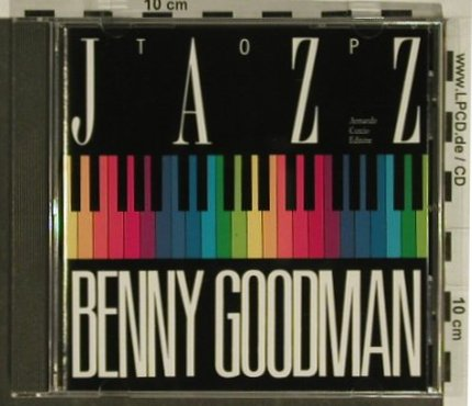 Goodman,Benny: Top Jazz, 16 Tr., RMC(), F, 1989 - CD - 97380 - 7,50 Euro