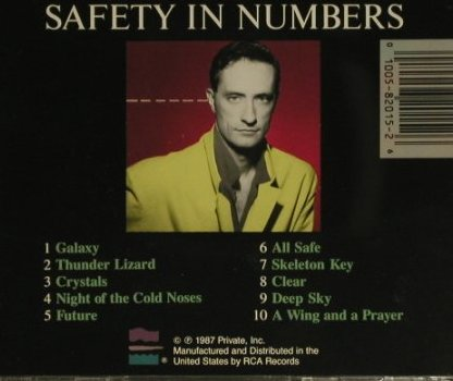 Van Tieghem,David: Savety in Numbers, Private(2015-2-P), US, 1987 - CD - 97592 - 5,00 Euro